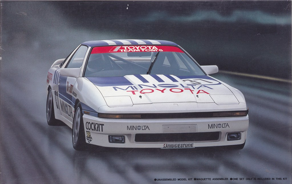 Ma70 Toyota Supra 3000 Gt Turbo Minolta Group A 1987 Jtcc