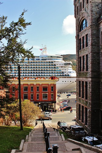 Supreme Court of Newfoundland and Labrador and Emerald Princess | by SignalHillHikerPhotography.com