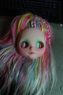 WIP girl, hopefully tomorrow | by Chantilly Lace (customs by Moofers)