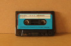 Photograph of the audio original cassette from which the recording was made