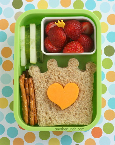 Princess Crown Bento | by anotherlunch.com