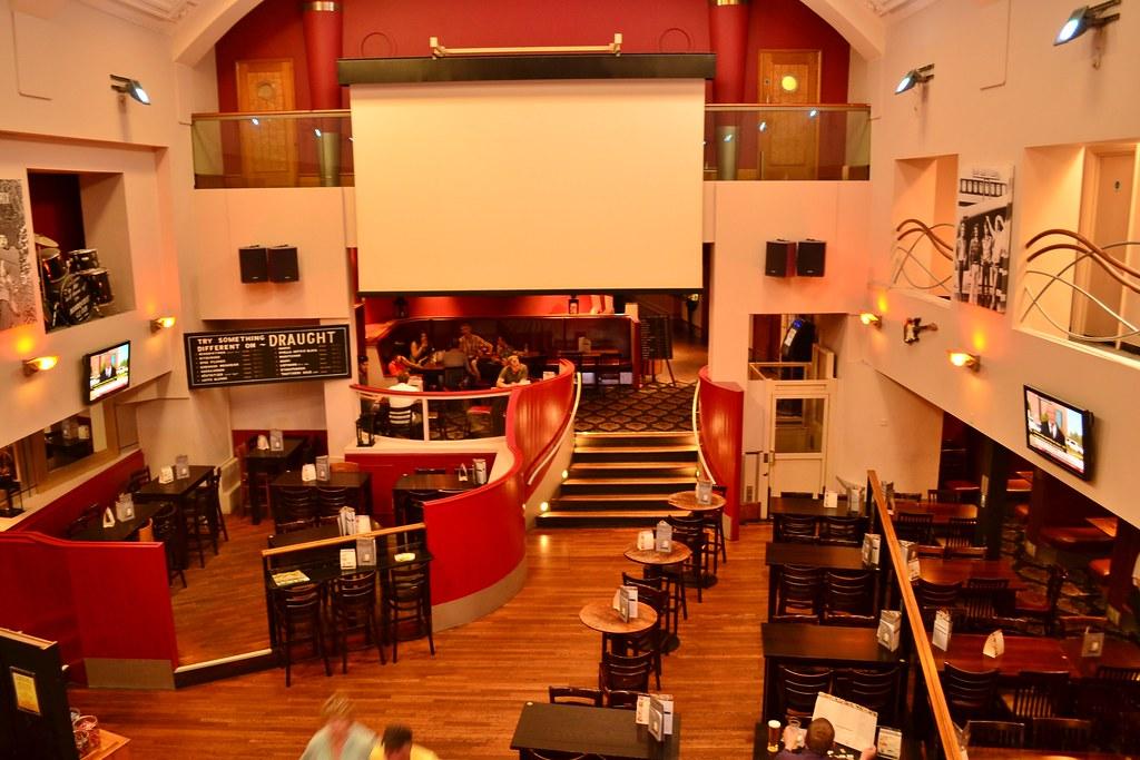 All Road Sign >> Montagu Pyke Pub, London | Interior shot of this JD Wethersp… | Flickr