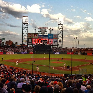 Great seats eh, sec 117? #sfgiants #baseball | by SFMONA