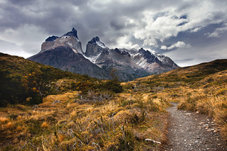 'By the Horn', Chile, Torre del Paine National Park, Cuernos del Paine | by WanderingtheWorld (www.ChrisFord.com)