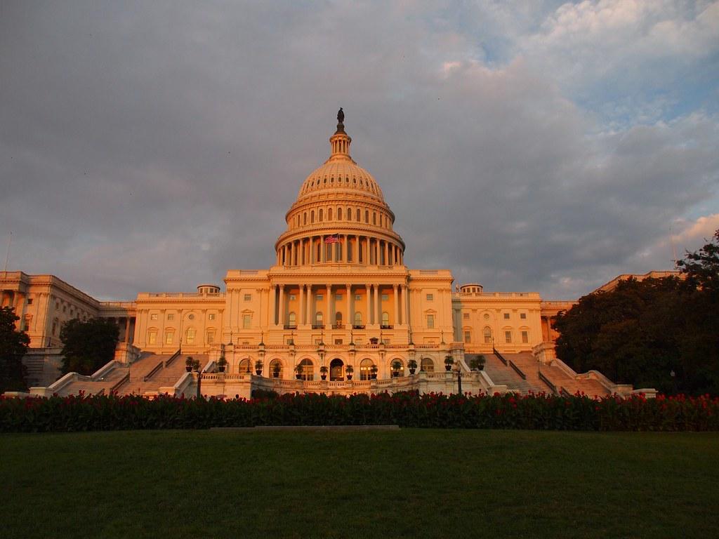 The Capitol at sunset Washington (Washington DC, USA 2012 ...