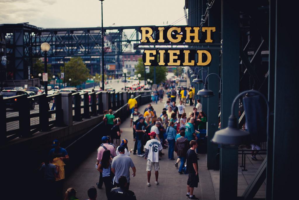 Safeco Field Right Field Entrance | Last week, Seattle ...