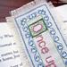bookmark closeup