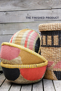 painted baskets | by the style files