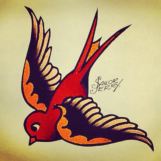 Sailor Jerry Bird Tattoo Designs