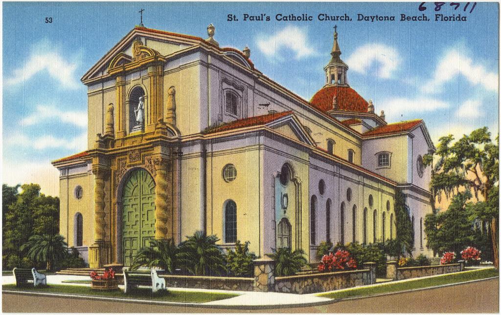 Catholic Church Daytona Beach Our Lady Of Lourdes