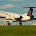 N16571 - United Express -  Embraer EMB-145LR  - Landing on KCLE Runway 6L!