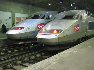 TGV Trains at Gare du Nord (Paris) | by Michael Berry Railfan