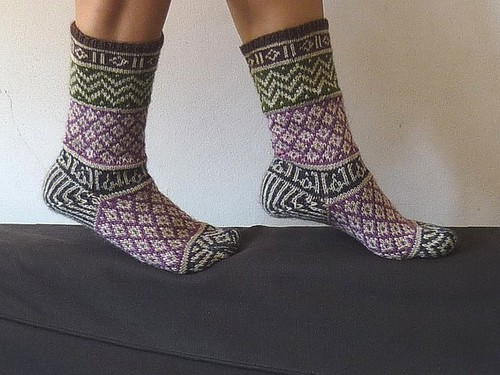 mamluke socks FO | by 100% pura lana