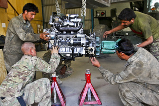 Engine repair | by The U.S. Army