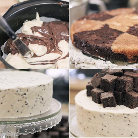 Fudge Cookie Cake