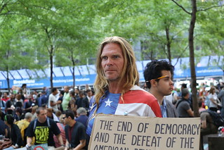 Man at Occupy Wall Street | by WarmSleepy