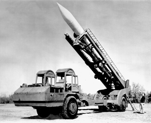 US Corporal Missile on LeTourneau Transporter | by buzzer999