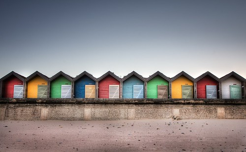 Beach huts in colour | by Jimmy McIntyre - Editor HDR One Magazine