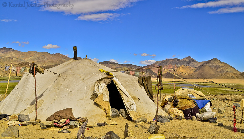 ... Nomad tents in Changthang | by Kuntal Joisher & Nomad tents in Changthang | Kuntal Joisher | Flickr
