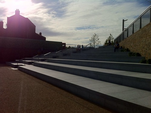 New steps, Kings Cross | by fieldus
