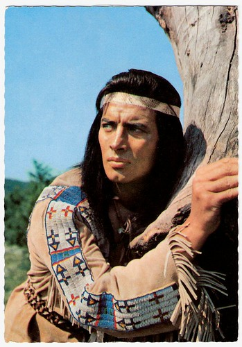 Pierre Brice in Winnetou II. Teil (1964)
