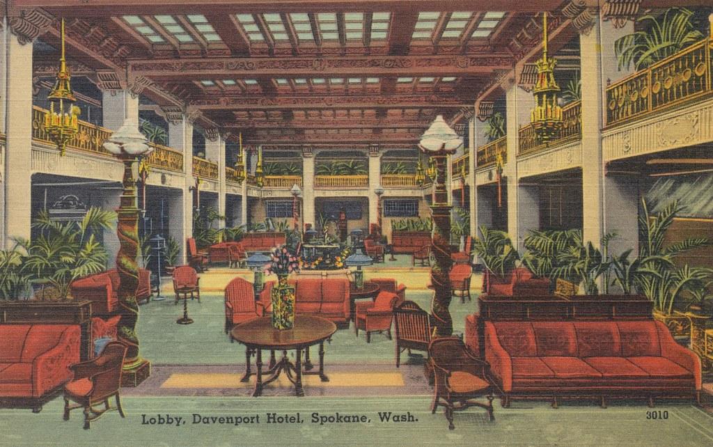 Davenport Hotel - Spokane, Washington