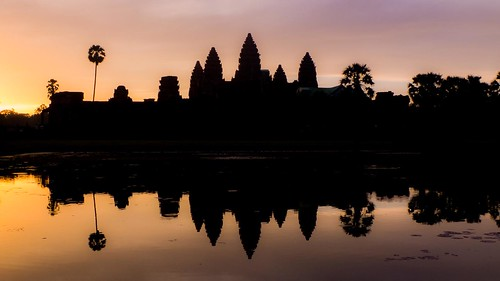 Sunrise over Angkor Wat | by Kuba Abramowicz