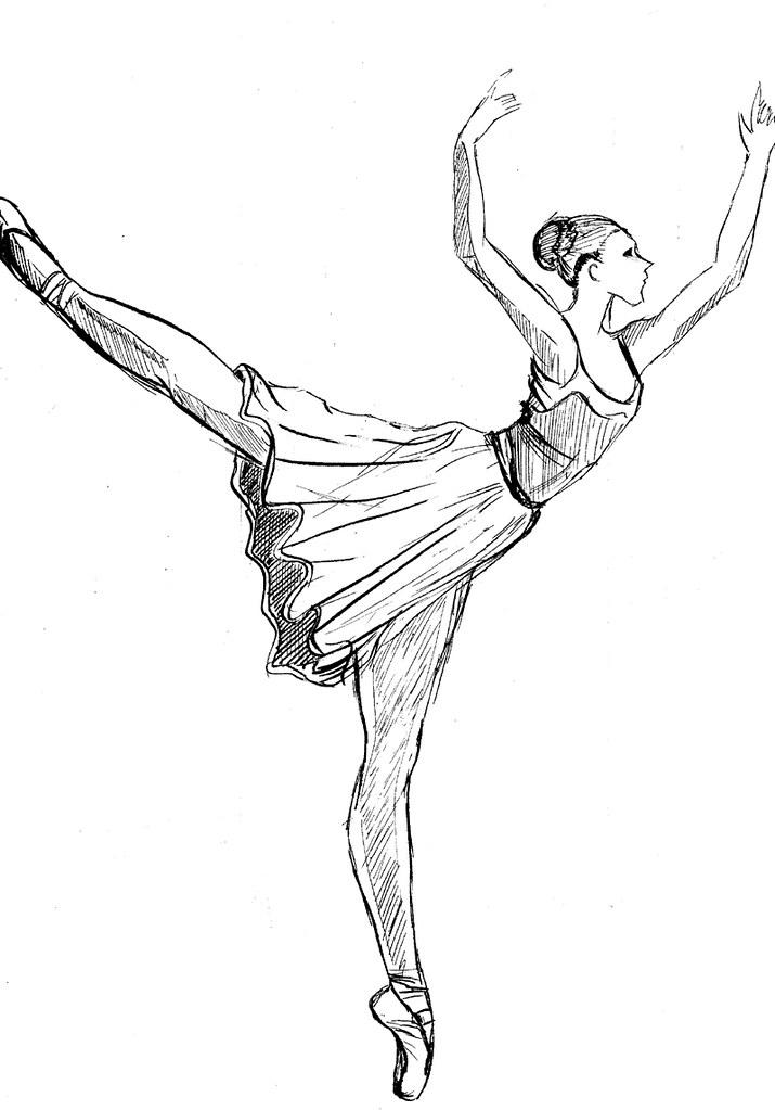 bailarinas para colorear | Marmota | Flickr