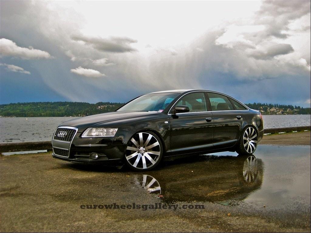 20X8.5 inch MRR HR4 wheels on Audi A4 wheelpal.com | Flickr