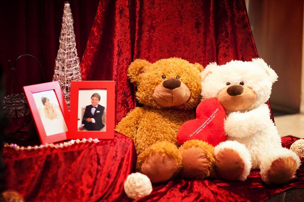 婚禮佈置 bear