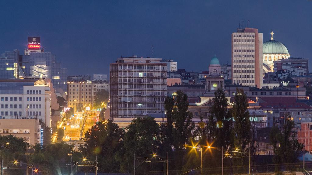 Belgrade Skyline Belgrade Serbia Ognjen Golubovic