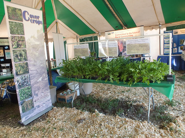 Nrcs At The Dakotafest Farm Show 2012 Cover Crops Were One Flickr Photo Sharing
