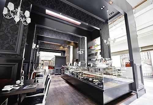 Bloomsbury Abu Dhabi Coffee Shop Interior Design By Car Flickr
