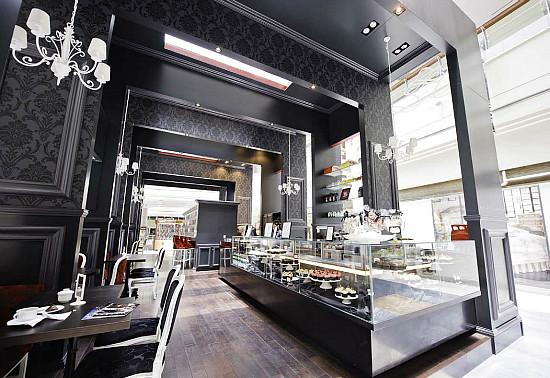 bloomsbury abu dhabi coffee shop interior design by car flickr. Black Bedroom Furniture Sets. Home Design Ideas
