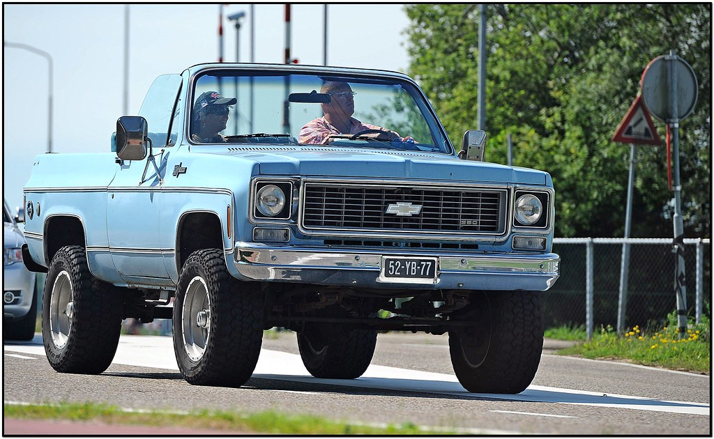 New Chevy Blazer >> Chevrolet Blazer / 1974 | Ruud Onos | Flickr