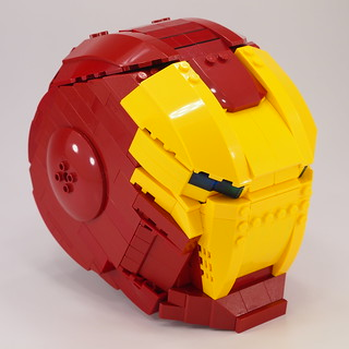 Lego Ironman Helmet | by Mr.Attacki