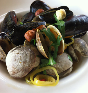 Clams and Mussels, Sooke Harbour House, BC. | by Ninja Mom