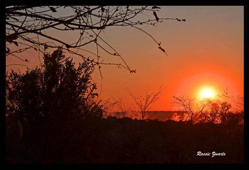 Vic. Falls Sunrise  Explored | by Rassie2010