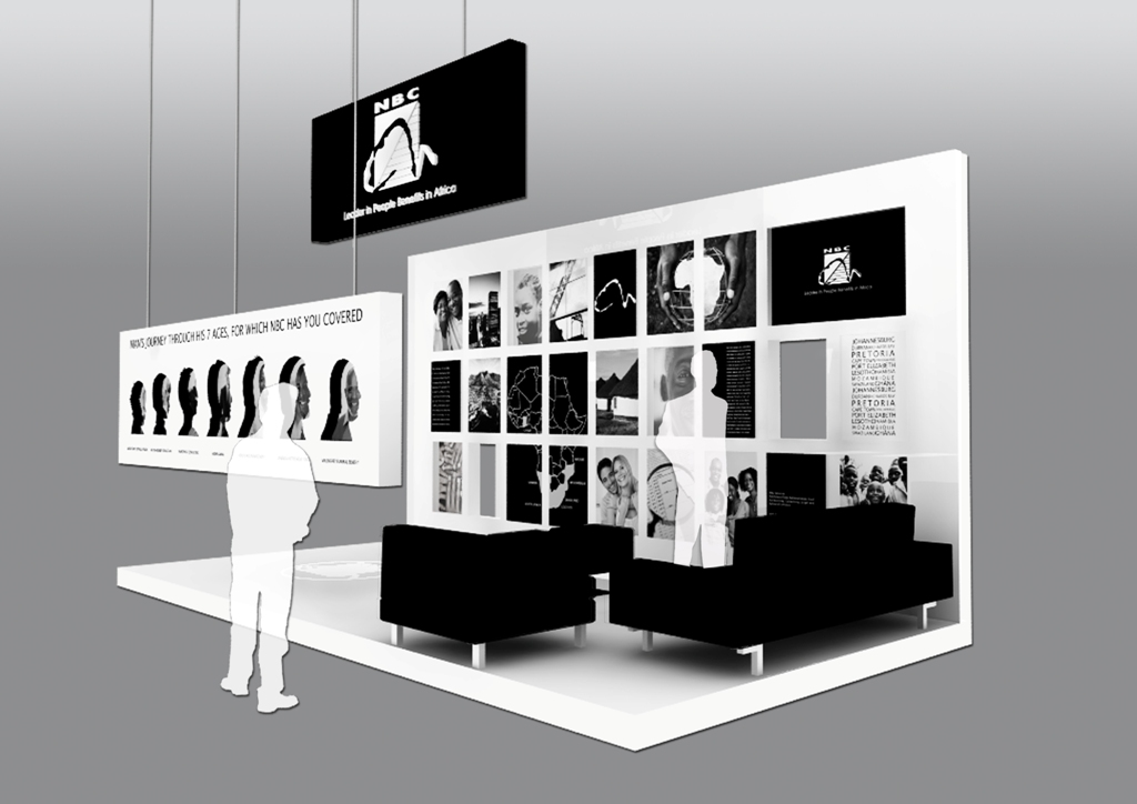 Sungard Exhibition Stand Stands For : Nbc exhibition stand irf presentation render
