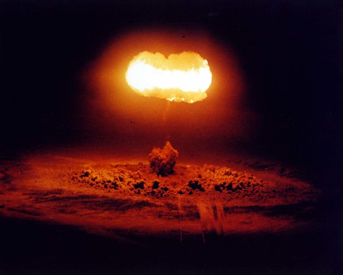 Nuclear weapons test in Nevada in 1957 | by International Campaign to Abolish Nuclear Weapons