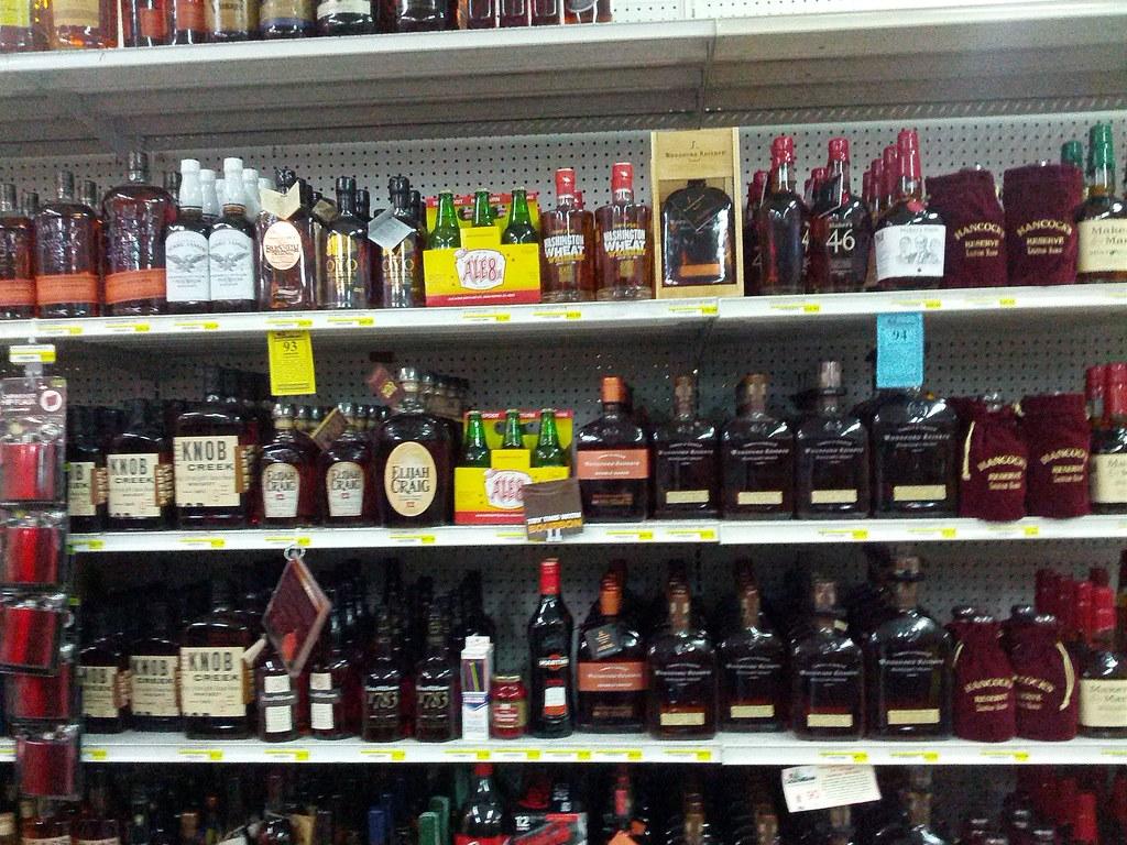 Selection Of Kentucky Bourbon 2 Liquor Barn Lexington K