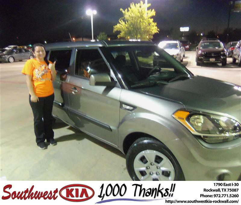Congratulations To Adam Garrison On The 2013 Kia Soul