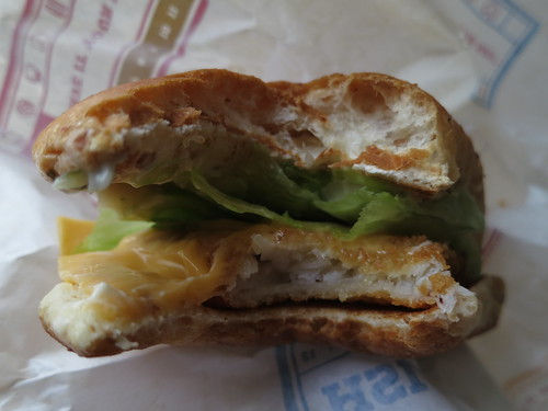 Burgerking Fish Sandwich | by ekkun