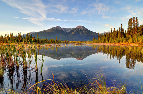 Vermilion Lakes at Sunrise | by BradWilke