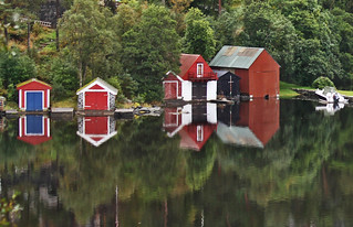 Troldhaugen reflections | by Travels with Kathleen