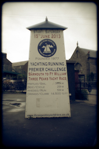 Three Peaks Yacht Race Start