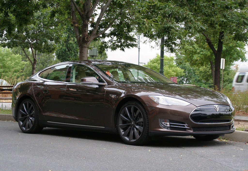 2013 Tesla Model S Brown For The Epic Win Alex Nunez