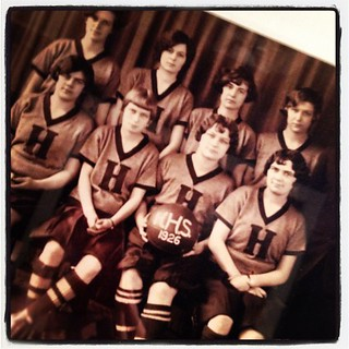 girl's basketball team from the 20s in Huron, Ohio | by olive_and_ollie