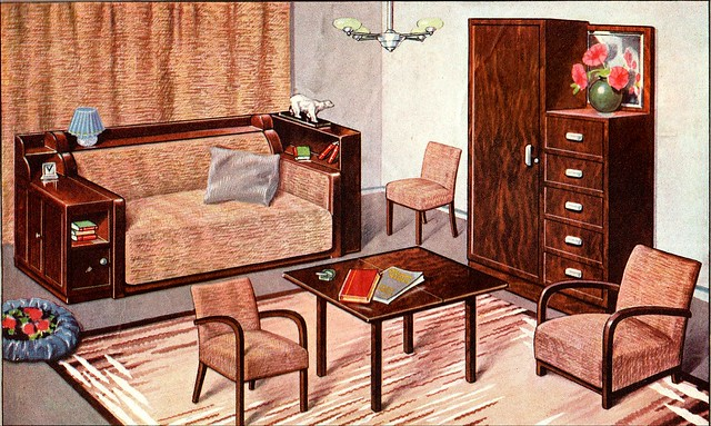 The 1930s 1935 Le Chasseur Fran 231 Ais Lounge Furniture