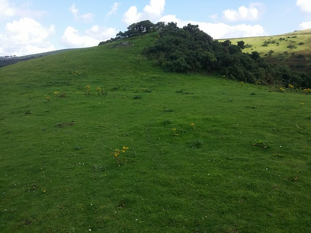 Unnamed outcrop above Meldon Reservoir Car Park